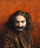 portrait of Meher Baba